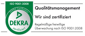 Qualitätsmanagement - Logo Dekra